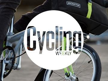 folding bike cycling weekly logo
